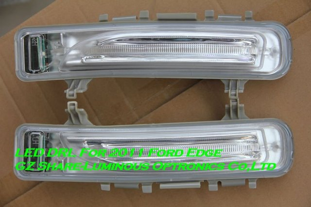 Professional! LED DRL/Daytime Running Light For 2011 Ford Edge Free Shipping