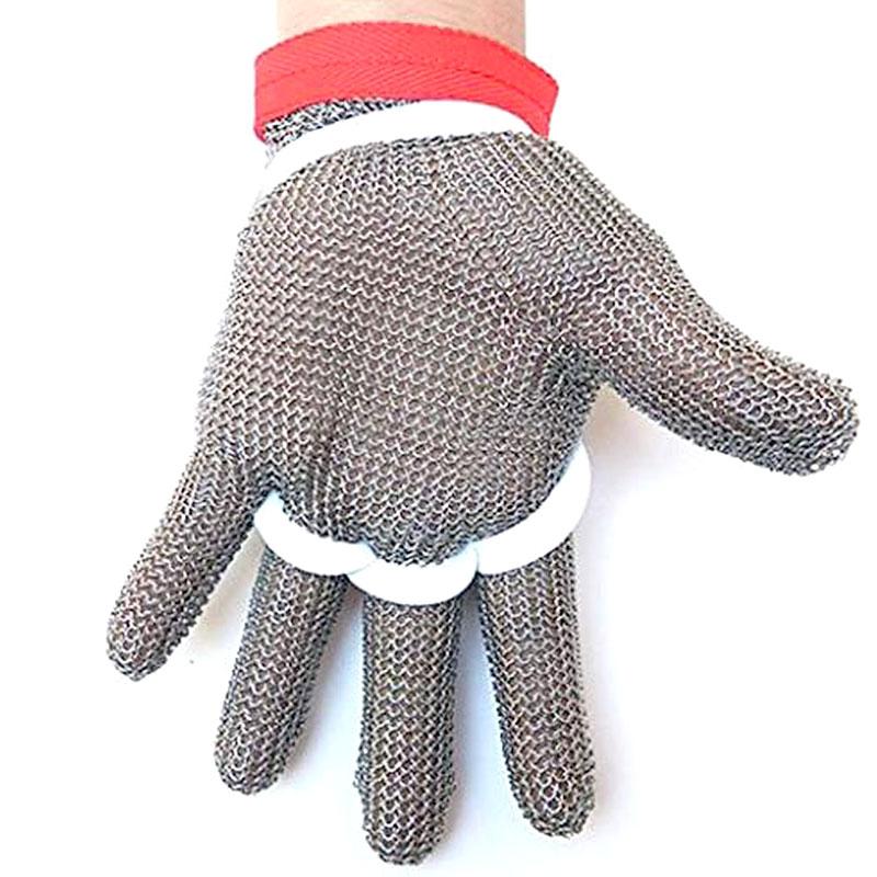 Image 4 - NMSafety haute qualité 100% anneau en acier inoxydable 304 résistant aux coupures boucher protéger gants de viandemeat glovestainless steel butcher glovebutcher steel gloves -