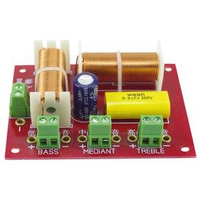 Image 2 - GHXAMP 200W głośnik 3 sposób Crossover Audio góra + połowy + bas niezależny filtr dzielnik częstotliwości 2 sztuk