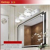 Современные Акрил LED Зеркало бра Водонепроницаемый гидроизоляционные гардеробная Макияж Волшебный шар огни приспособление для Ванная ком