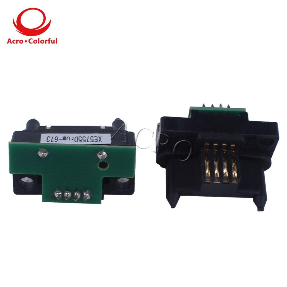 Compatible DocuPrint dp C2535 color laser printer cartridge reset toner chip for Xerox