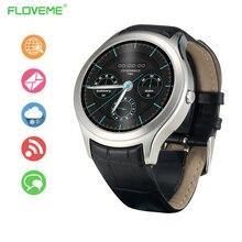 Mode Sport Bluetooth Smart Uhr Tragbare Geräte Pulsmesser Smartwatch Unterstützung Sim-karte, WiFi Für IOS Android iPhone