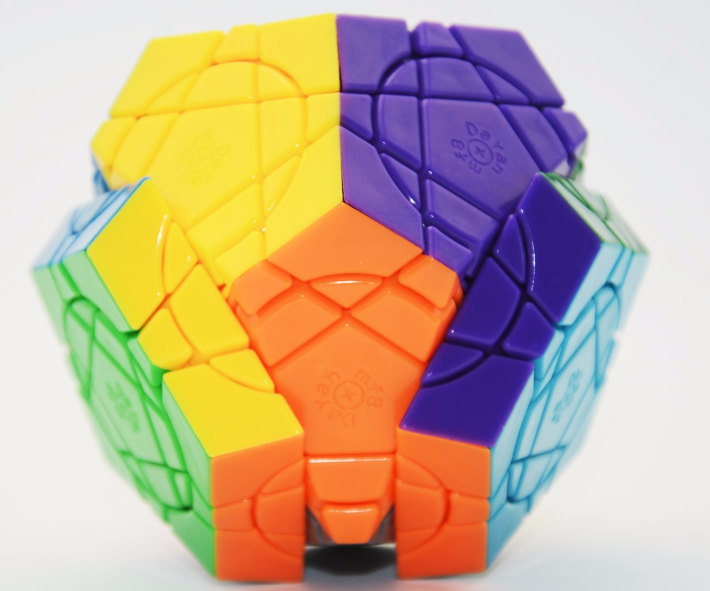 цена  Brand New MF8 Crazy Megaminx(Stickerless)MF8+Da Yan Eight Planets Magic Cube Puzzle Learning Education Toys For Children  онлайн в 2017 году