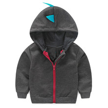 Mother Kids - Baby Clothing - TELOTUNY 2017 Amazing Infant Toddler Baby Boy Girl Dinosaur Pattern Hooded Zipper Tops Clothes Coat Dec12