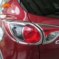 For Mazda CX 5 CX5 5doors Hatchback 2012 2013 2014 2015 ABS Chrome Rear light Cover Tail Lamp Rear Headlight Lamp Cover Trim