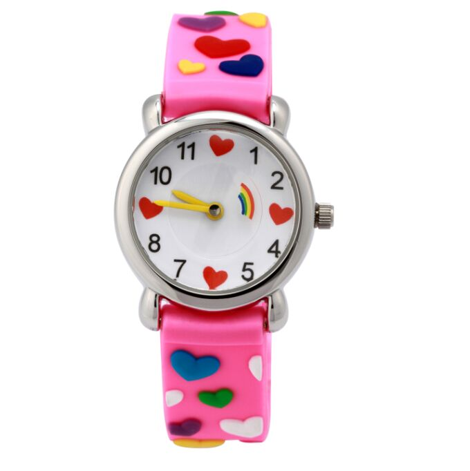 Waterproof Brand Quartz Wrist Watch Baby Children watch hearts Kid Watches For Girls Boys Fashion Casual Reloj Y4589 children watch basketball brand quartz wrist watch 4color for girls boys waterproof kid watches children fashion gift