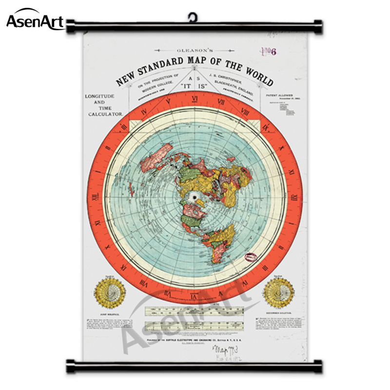 padrão do mundo único cartaz de impressão