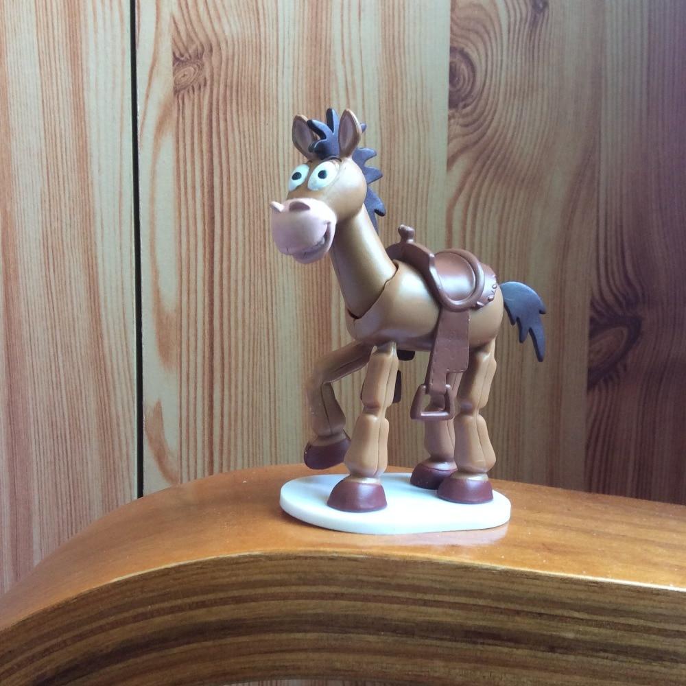 1Pcs 9cm toy story Woody Bullseye Horse PVC figure toy