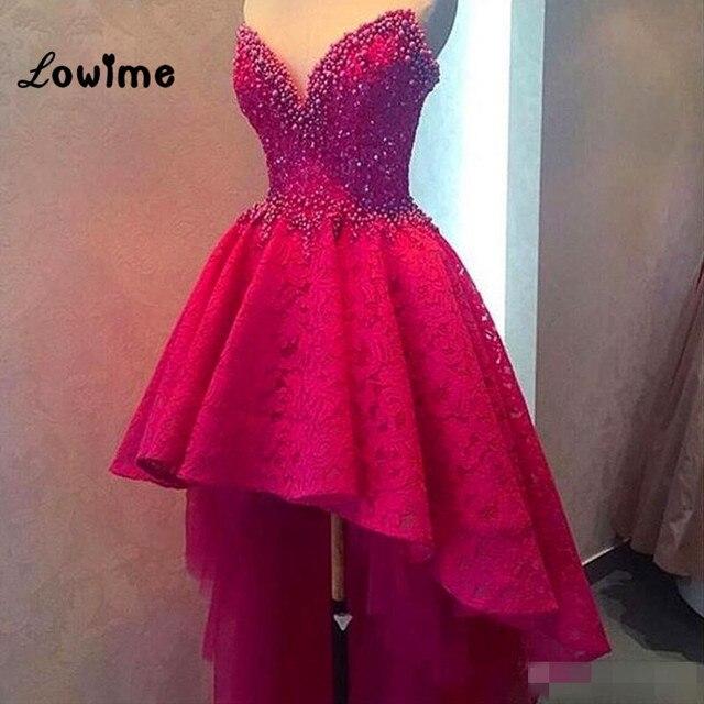 3a40f0dcb3f Oi Baixo Vestido de Festa Rosa Quente Vestidos de Formatura Para  Adolescentes Robe De Cocktail Querida