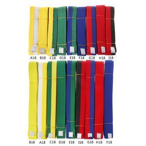 Профессиональный пояс для тхэквондо каратэ, дзюдо двойной обертывание боевых искусств полоса спортивный пояс 1,8 м/2,8 м