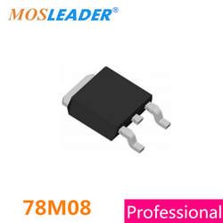 Mosleader 78M08 TO252 500 шт. DPAK 500mA 0.5A 8 В Сделано в Китае высокое качество