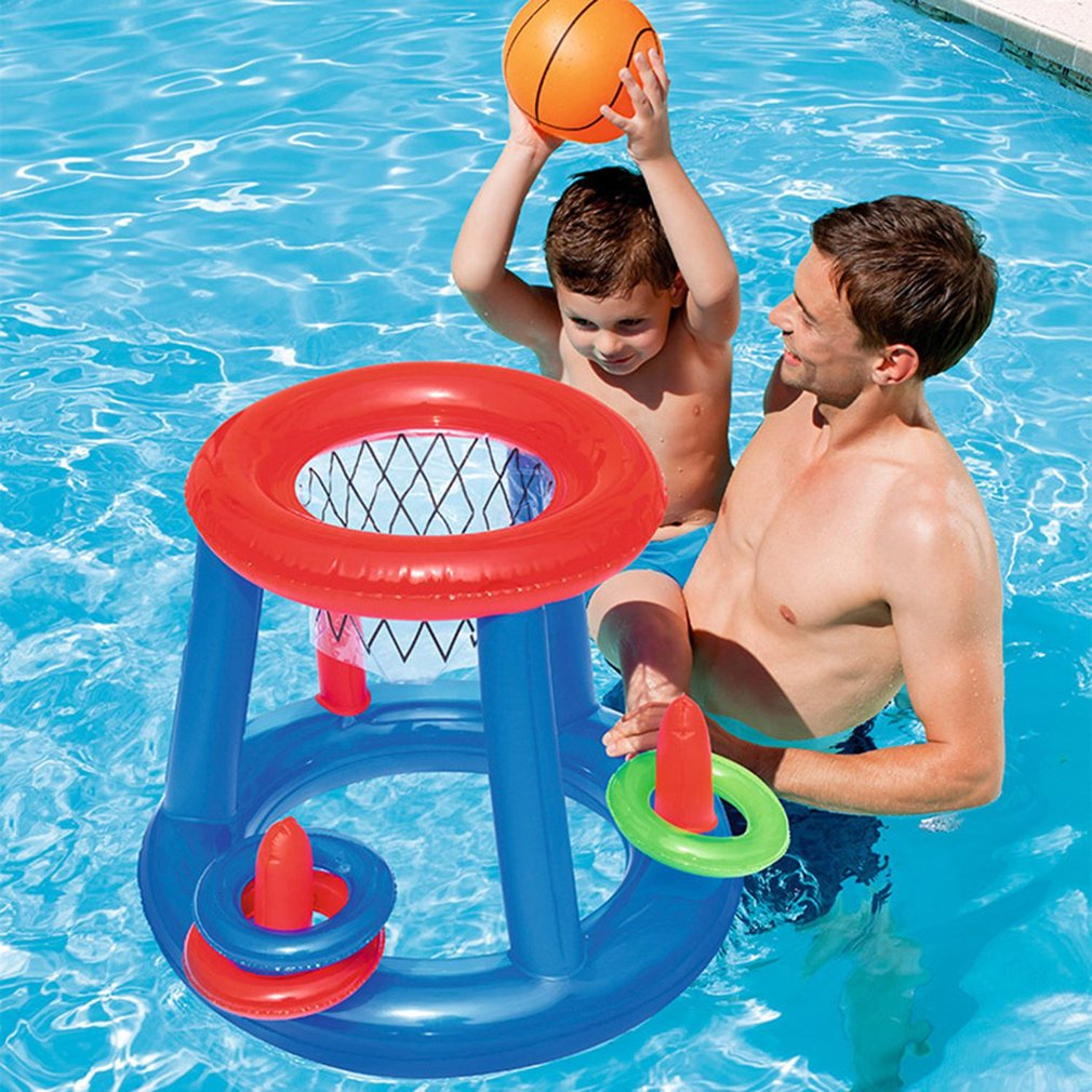2019 Water Basketball Hoop Pool Float Inflatable Play Game Swimming Pool  Toy Water Sport Toy Floating Toys For Children Kids New From Laurul, $21.46  | ...