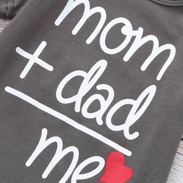 Mum Dad Love Me Romper Clothes
