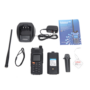 Image 5 - ABBREE AR F6 6 Bands Walkie Talkie Dual Display 999CH VOX DTMF SOS Scanning Stopwatch Functional LCD Color Display + USB Cable