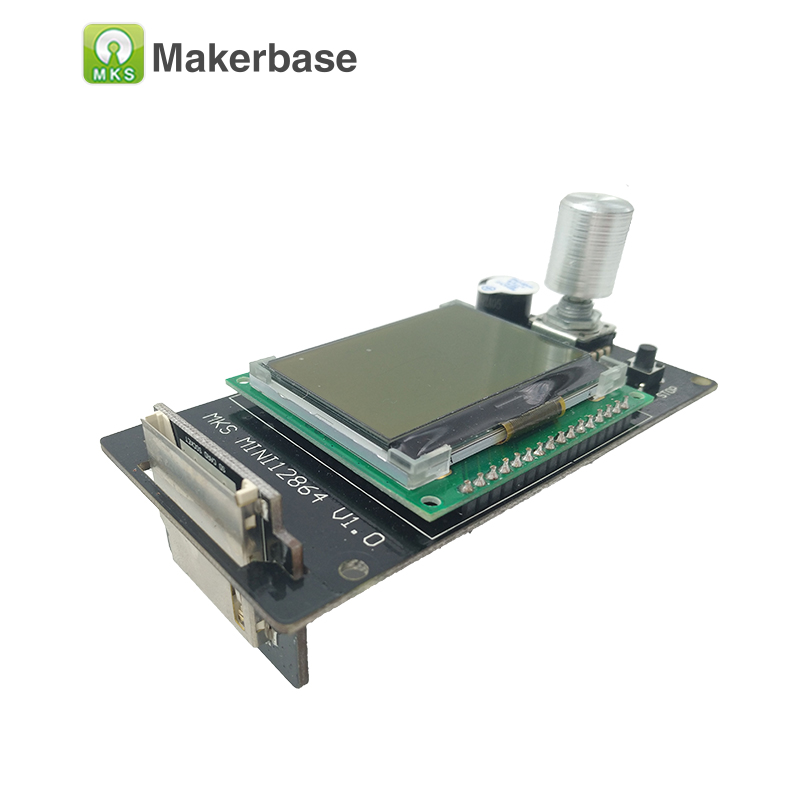 3d printer Reprap LCD MKS MINI12864LCD mini 12864 smart display Reprapdiscount controller Full Graphic for mother board