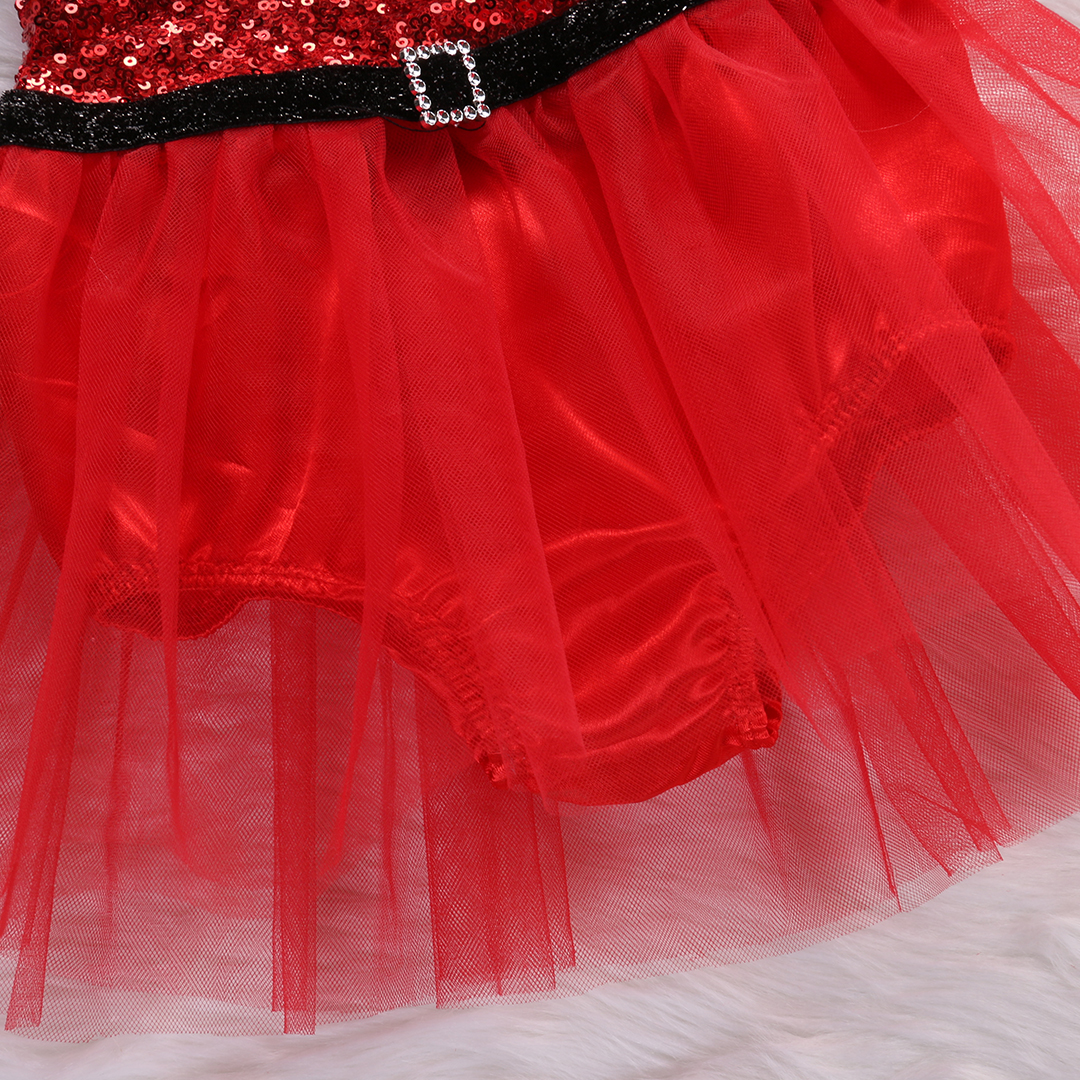 a9515ab69f4 Emmababy Toddler Baby Girl Rompers Santa Claus Sequin Jumpsuit Lace Tutu  Dress Christmas Outfits Festive w-in Dresses from Mother   Kids on  Aliexpress.com ...