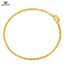 c9275ae5db07 24 K pulsera de oro puro 999 Real sólido brazalete de oro elegante O forma  Simple de moda fiesta clásica de la joyería caliente .