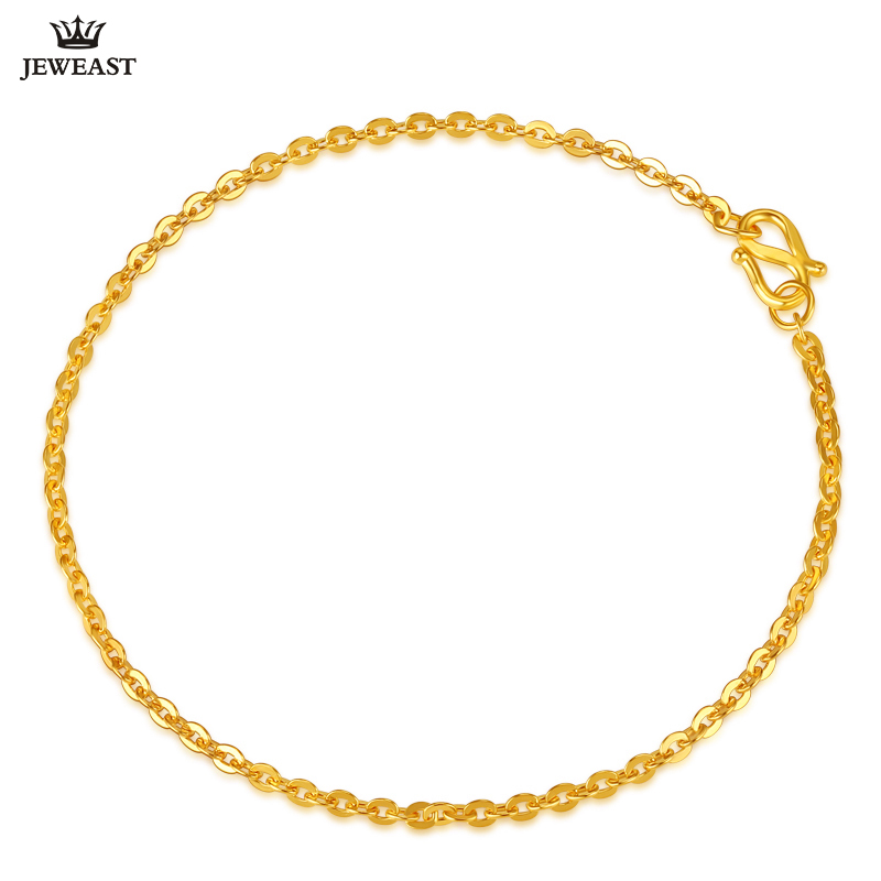 Jlzb 24k Pure Gold Bracelet Real 999