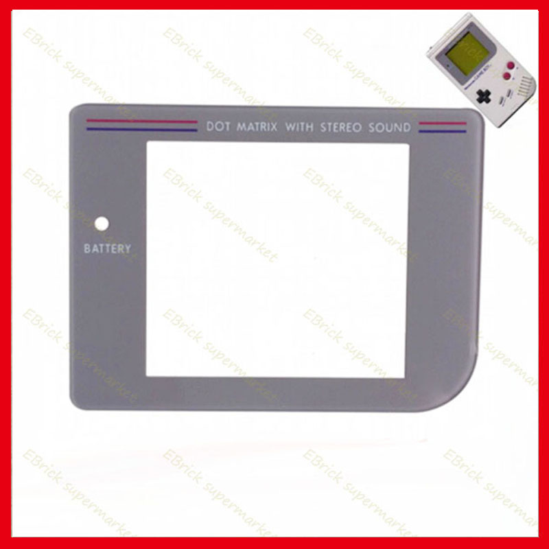 50pcs Glass screen Len for Nintendo Game Boy GB old thick game consoles screen protection panel