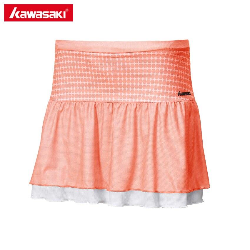 Prix pour Kawasaki D'été Dames Sport Jupe Table De Tennis Jupes Polyester Respirant Badminton Fonctionnement Shorts Jupe Femmes SK-172705