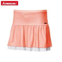 Kawasaki Summer Ladies Sports Skirt Table Tennis Skorts Polyester Breathable Badminton Running Shorts Skirt Women SK-172705