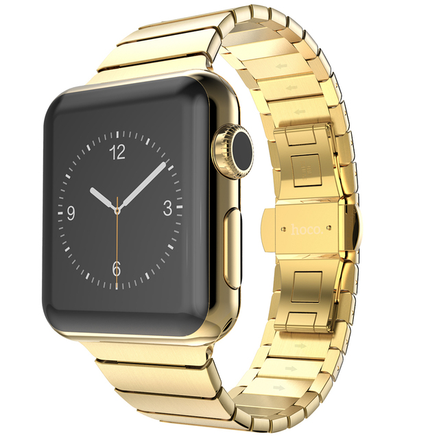 New Arrival original HOCO brand Stainless Steel  Watchbands Strap Bracelets for APPLE I WATCH 42MM