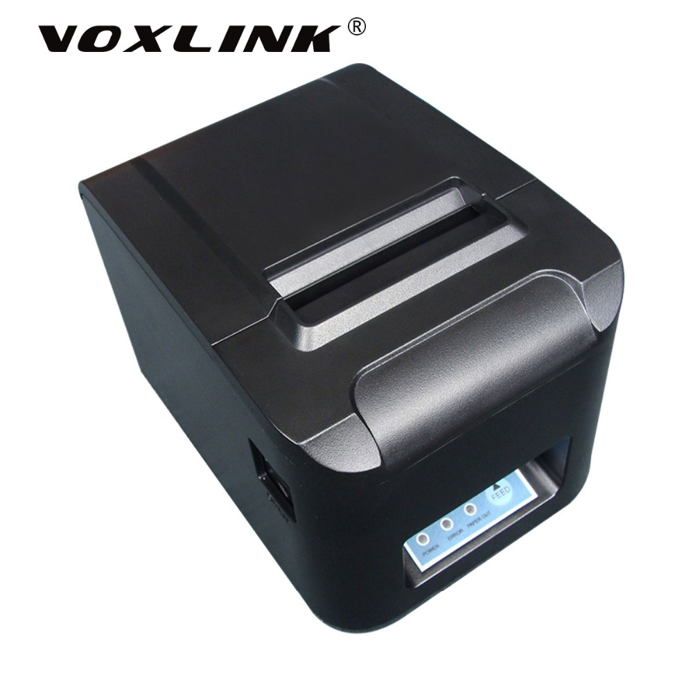 VOXLINK High Speed 260mm s 80mm Wireless WiFi Thermal receipt printer Desktop Wifi POS printer With