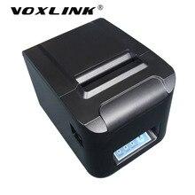 Voxlink высокое Скорость 260 мм/сек. 80 мм Беспроводной Wi-Fi Термальность получения настольный принтер Wi-Fi pos-принтера с автоматическим резаком денежный ящик _ DHL