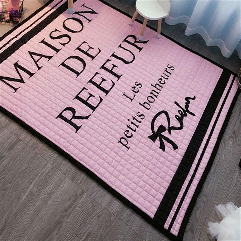 Maison floormat couverture garçons filles jeu tapis bébé enfant playmat chiens imprimer exclusif tapis 1.5 cm pique-nique tapis lit tapis cartoon - 6