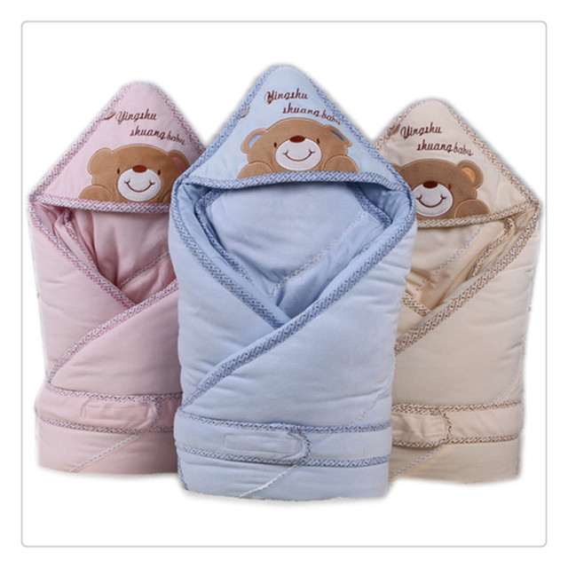 Newborn Baby sleeping bags as envelope and winter wrap sleepsacks Baby products used as stroller bag blanket swaddling 2017 new