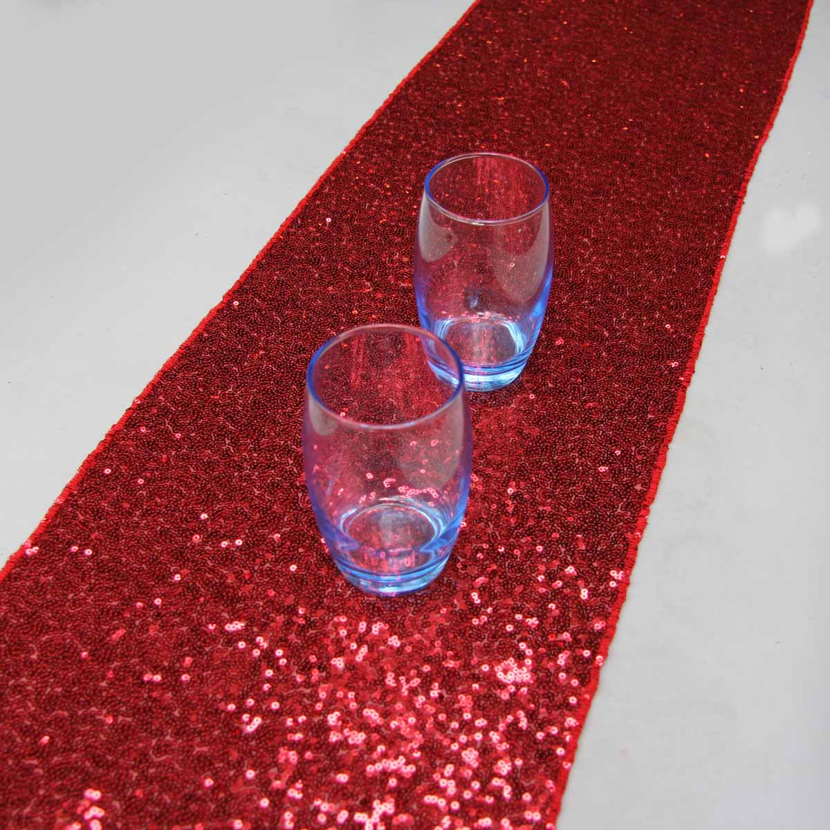 Delicieux 14u0027u0027x108u0027u0027/36cmx274cm Luxury Red Sequin Table Runner Wedding Party Table  Decoration Solid Color Table Runners In Table Runners From Home U0026 Garden On  ...