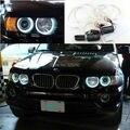 Para BMW X5 E53 1999-2004 Excelente Ultra brilhante farol de iluminação CCFL Angel Eyes kit de Halo Anel angel eyes kit