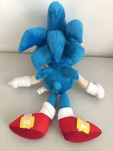 Image 2 - Anime Bebek peluş oyuncaklar Sonic the Hedgehog 40cm Mavi Sonic peluş oyuncaklar Sevimli Doldurulmuş Çocuk Hediyeler Bebek Erkek Büyük Yumuşak Oyuncaklar çocuklar için