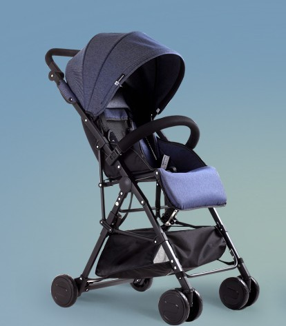 Baby stroller can sit can lie the ultra lightweight portable umbrella cart High summer landscape baby cart