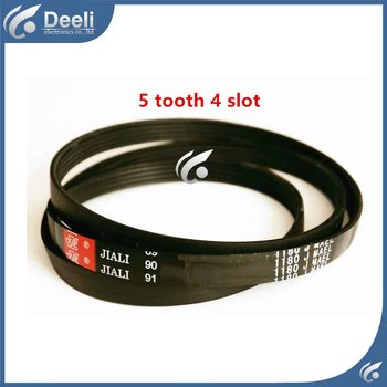 1pcs for washing machine drive belts 1180J MAEL treadmill motor belts fitness drive belts 5 tooth 4 slot good working image