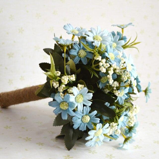 All Free Shipping Handmade Bouquet De Mariage Polyester Brooch ...