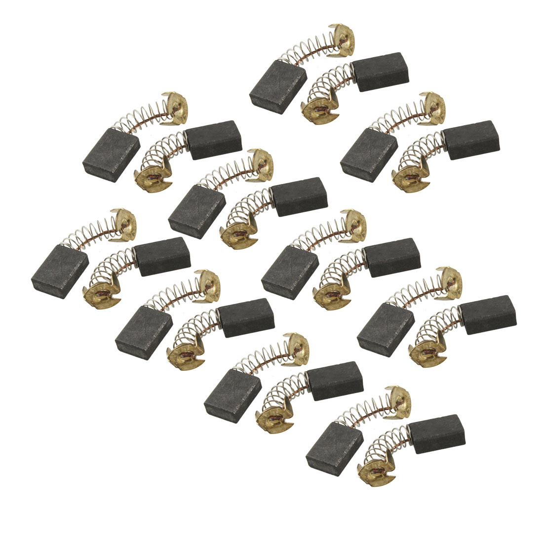 "20 Pcs Electric Drill Motor Carbon Brushes <font><b>23</b></font>/32"" <font><b>X</b></font> <font><b>17</b></font>/32"" <font><b>X</b></font> <font><b>1</b></font>/<font><b>4</b></font>"""