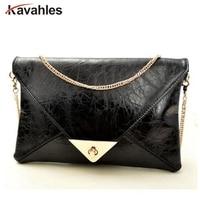 2015 Hot Promotion Envelope Clutch Bag Messenger Bag Shoulder Pouch Women Pu Leather Handbags A60 246
