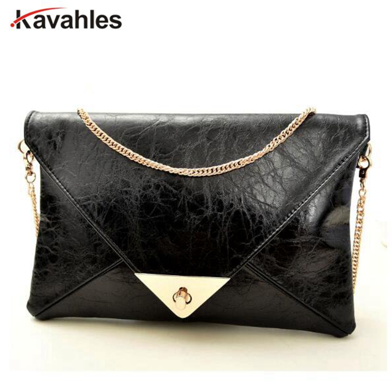 2018 Hot Promotion! Envelope clutch bag messenger bag shoulder pouch women pu leather handbags    A40-246