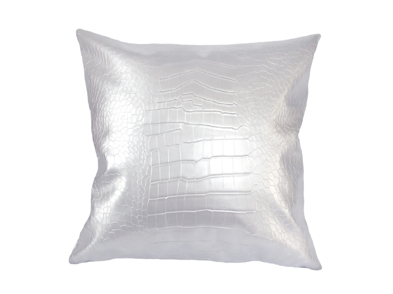 High quality Artificial faux croc leather durable car sofa chair black white  grey home Decorative PU