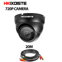AHD 720P Mini Dome Analog AHD CCTV Camera Indoor IR CUT Night Vision Plug And