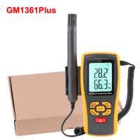 GM1361plus/GM1361 Industrial Digital Thermometer Hygrometer K type Thermocouple Probe Lab Air Humidity Temperature Meter USB