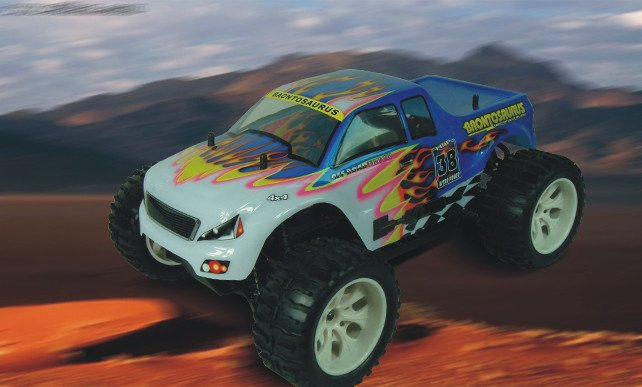 HSP 94111 1/10th Scale Electric Powered Off Road Monster rc car model P2 02023 clutch bell double gears 19t 24t for rc hsp 1 10th 4wd on road off road car truck silver