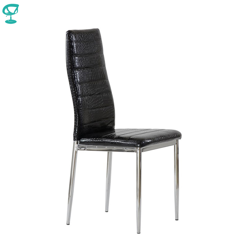 95301 Barneo S-1 Eco-leather Kitchen Furniture Breakfast Interior Stool Chair For Dining Black Crocodile Free Shipping In Russia