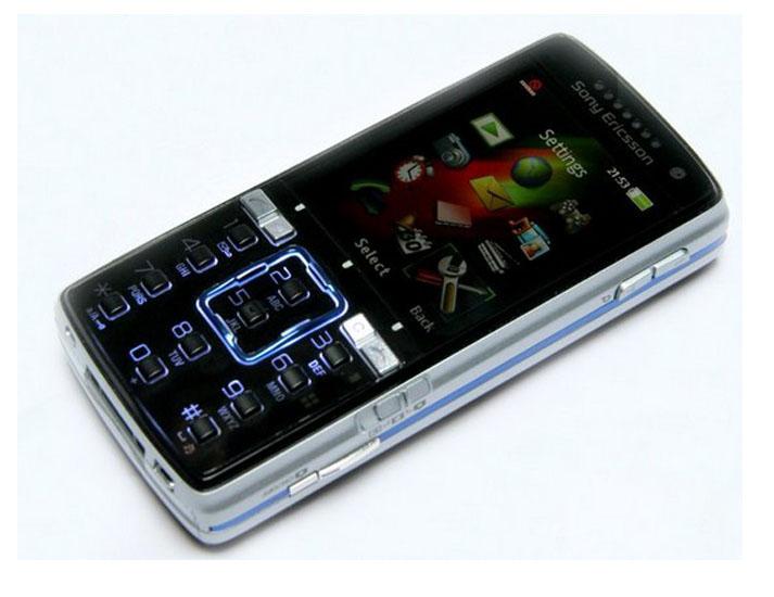 Refurbished phone Sony Ericsson K850i K850 Mobile Phone 3G 5MP Camera Bluetooth Cell phone blue 3