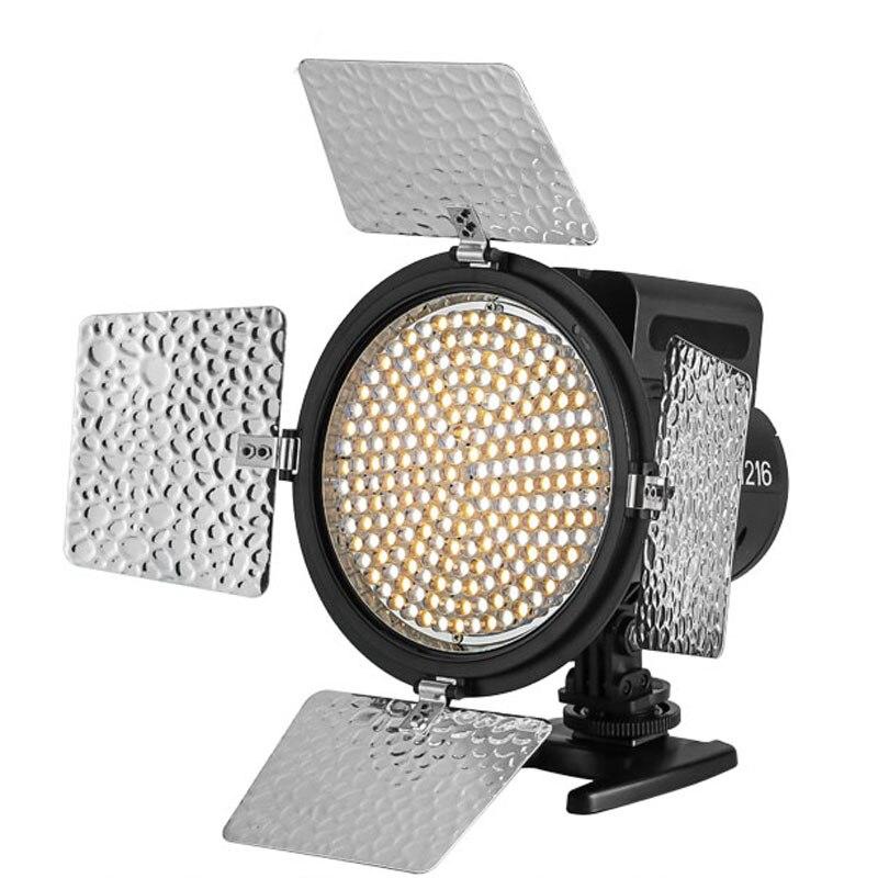 YONGNUO YN-216 YN216 Pour DSLR Caméras LED Vidéo w Réglable 3200 k-5500 k CD30