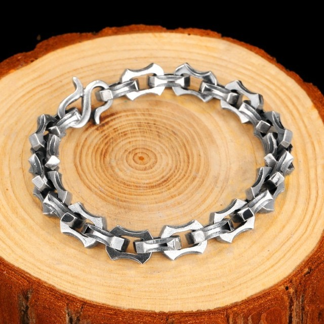 Bracelet argent luxe Viking  5