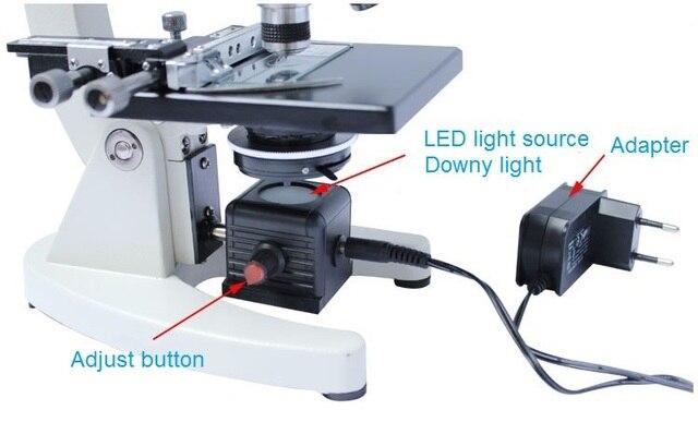 Illuminazione Per Microscopio : Microscopio fondo fonte di luce supplementare ha condotto la