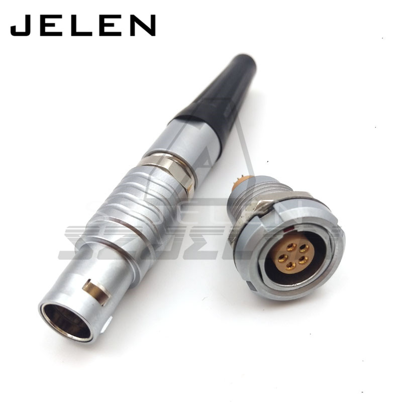 5 pin connector, FGG.1B.305.CLAD**Z ,ECG.1B.305. 1B 5pin Metal circular connector free shipping class 3b 810nm diode low level cold soft laser therapy lllt body pain relief to health care body apparatus