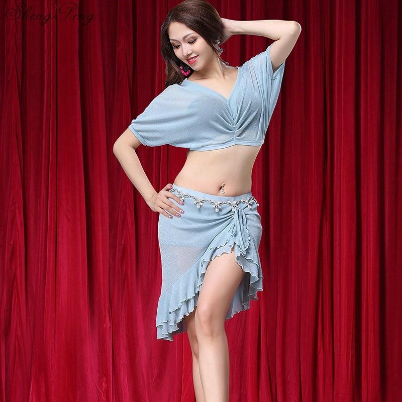 Vêtements de danse du ventre costume indien sari robe vêtements oriental de danse samba carnaval costume standard de danse robes Q351
